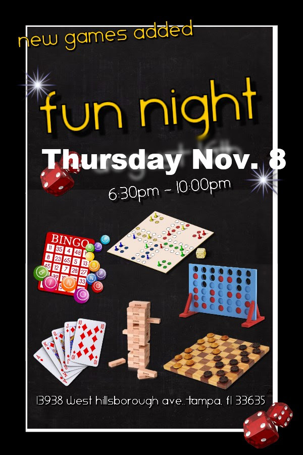 Fun Night Nov 8