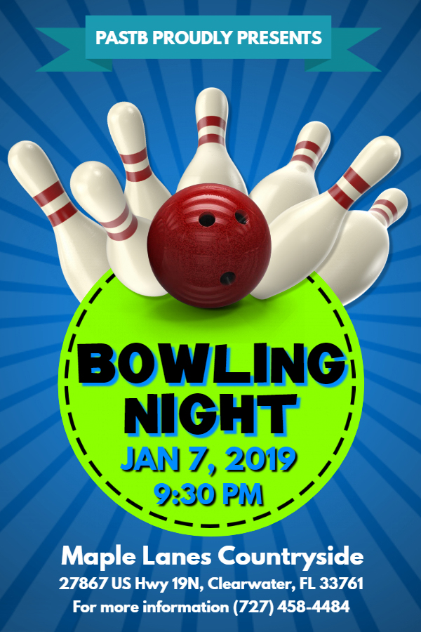Bowling Night - Jan 7